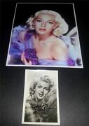 Lana Turner Signed