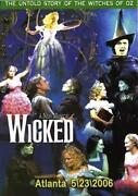 Wicked DVD