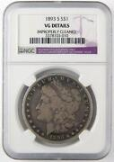 1893 s Morgan Dollar