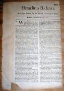Antique Newspaper