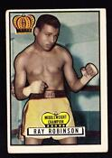 Sugar Ray Robinson Card