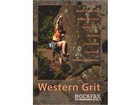 Western Grit - Rockfax for Trad climbing