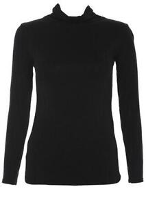 Black Polo Neck  Women s Clothing  a4744c80cd12