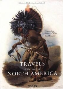 Travels in the Interiors of North America Hardcover – RARE BOOK!