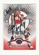 Tony Gonzalez Autograph