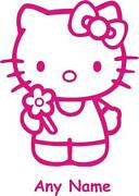 Hello Kitty Personalised Stickers
