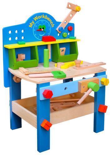 Wooden Toy Workbench Ebay