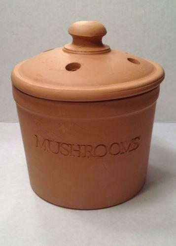 Mushroom Kitchen Canisters Ebay