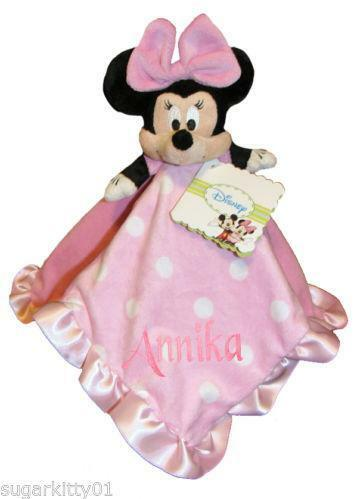 Minnie Mouse Security Blanket Ebay