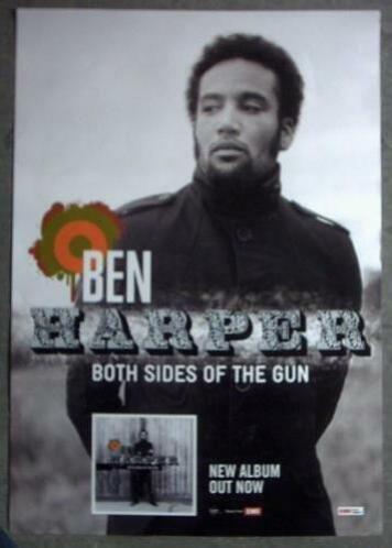 affiche/poster - Ben Harper -Both Sides Of The Gun