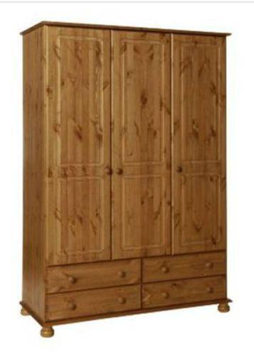 Triple Pine Wardrobe Ebay