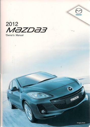 2014 mazdaspeed3 owners manual