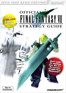 I Want Final Fantasy 7 & 8 Strategy Guides