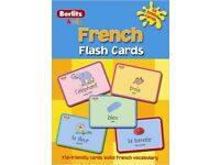 Berlitz French flash cards - jumbo cards for children