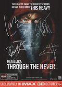 Metallica Signed