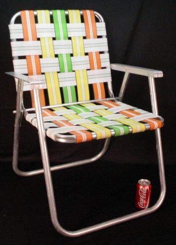 Vintage Folding Beach Chair Ebay