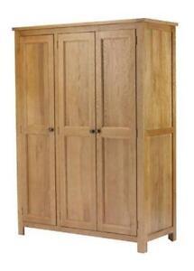 Solid Wood Wardrobes Wardrobes EBay