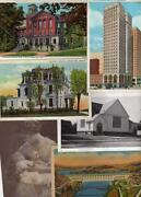 Lot 100 Vintage Postcards