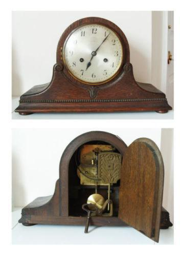 wooden mantle clock - Mantle Clock