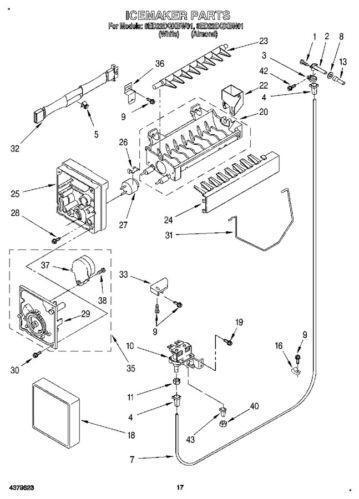 D7824705 Ice Maker Wiring Schematic on amana refrigerator schematic diagram