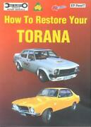 Torana Workshop Manual