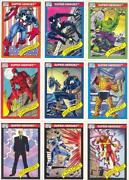 Marvel Cards 1990