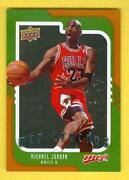 Michael Jordan MVP Upper Deck Card