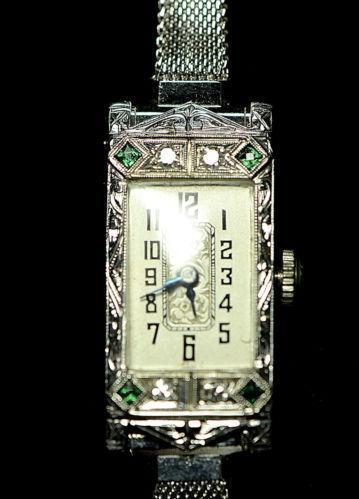 Wittnauer Ladies Watch 14 K Ebay