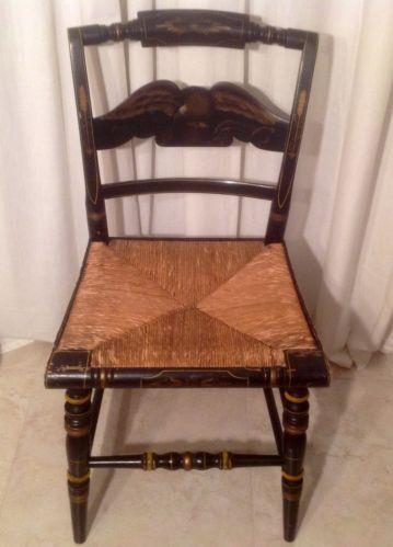 Chair Rush Seat Antique Ebay