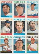1964 Baseball Card Lot