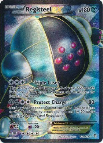 Registeel Pokemon Card Registeel EX: Singles ...