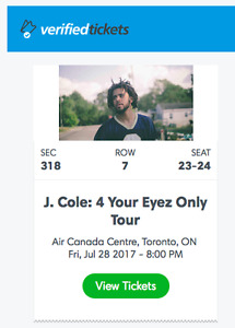 J Cole: 4 Your Eyez Only Tour Friday, July 28th @ ACC