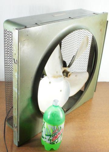 Vintage Electric Window Fan Ebay