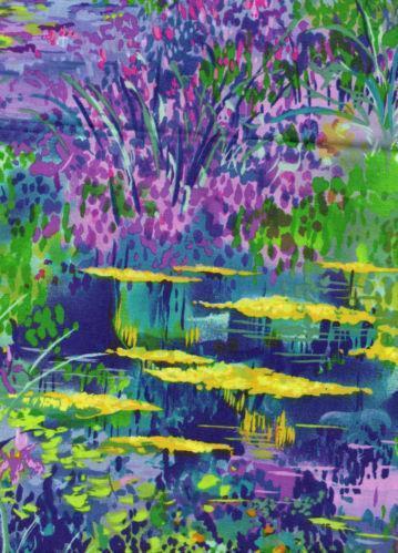 Monet Fabric Ebay