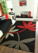 Teppich Grau Rot
