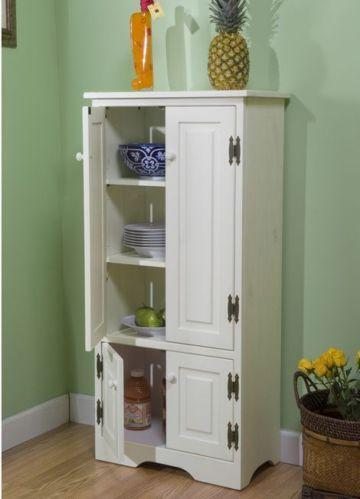 pantry cabinet ebay. Black Bedroom Furniture Sets. Home Design Ideas