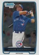 2012 Bowman Chrome Jacob Anderson