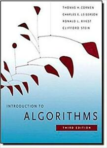 NEW Introduction to Algorithms