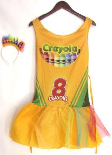 6087fa1fa8d Crayola Costume | eBay