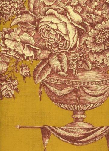 French Floral Wallpaper Ebay