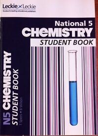 LECKIE & LECKIE NATIONAL 5 CHEMISTRY STUDENT BOOK. £16.99 NEW. MINT CONDITION.