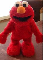 2 ELMO SESAME STREET ACTION DOLLS