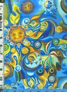 Sun Moon Fabric