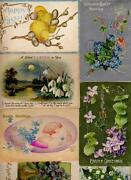Easter Postcard Lot