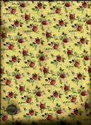 Yellow Rose Fabric