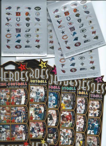 Nfl Mini Stickers Ebay