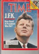 Time Magazine JFK