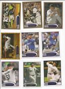 2012 Topps Update Sparkle Lot