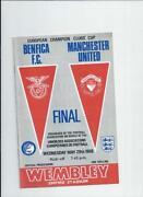 European Cup Final Programmes