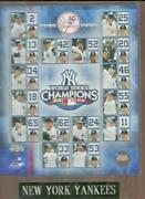 New York Yankees World Series Plaque